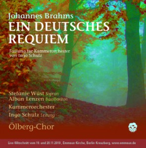 "Booklet - Johannes Brahms ""Ein deutsches Requiem"""