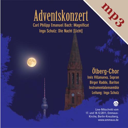 Ölberg-Chor, Adventskonzert 2011, Teil 1